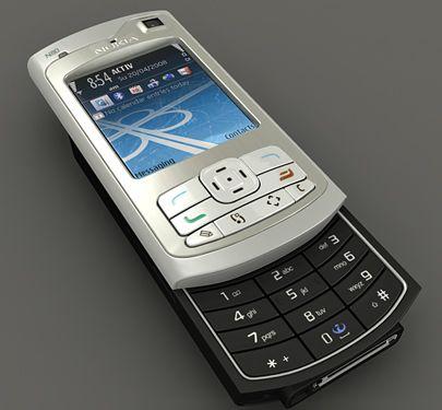 Nokia N80 3d model