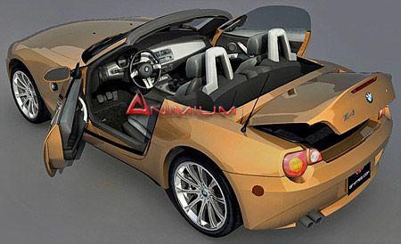BMW z4 3d nodel
