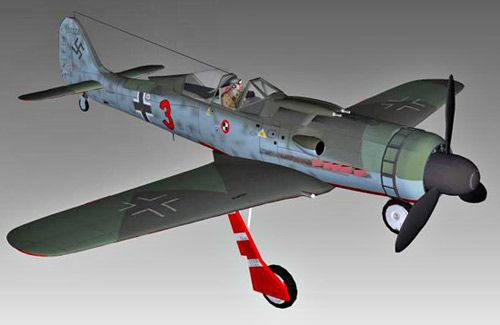 Fw190 Jagdverband 44 3d model