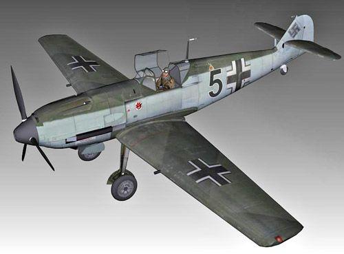 Messerschmitt Bf109e 3d model