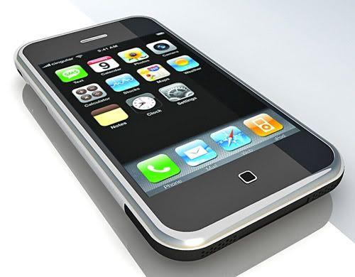 Apple iPhone 3G – 3d model