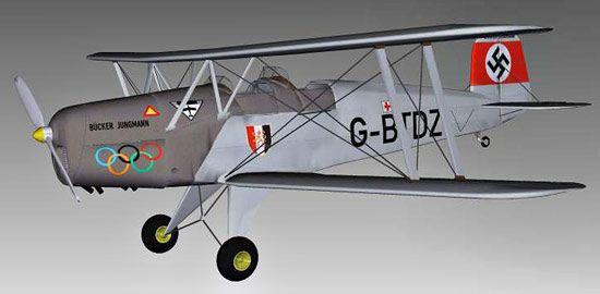 Bucker Bu 131 Jungmann 3d model