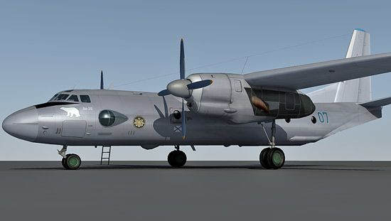 free 3d model of antonov an-26