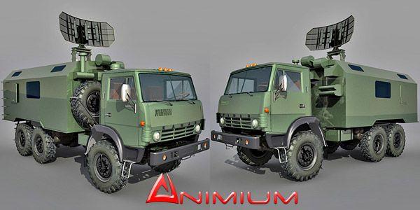 Kamaz 4310 military truck