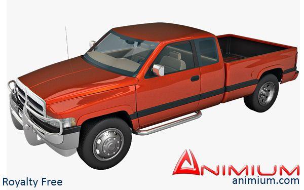 Dodge Ram 3500 3d model