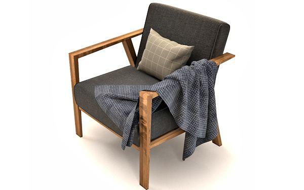 IKEA Ekenaset Chair 3d model