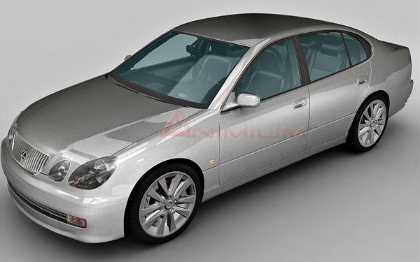 Lexus GS300 3d model