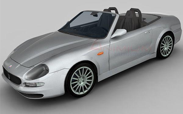Maserati Spyder 3d model