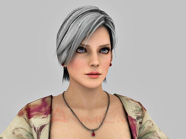 Modern Woman 3d character