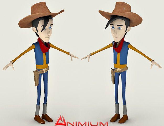 Luke 3D Character