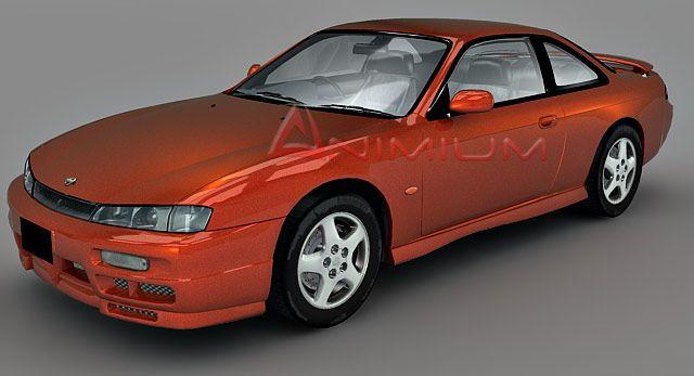 Nissan 200SX 3d model
