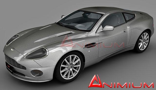 Aston Martin Vanquish 3d model