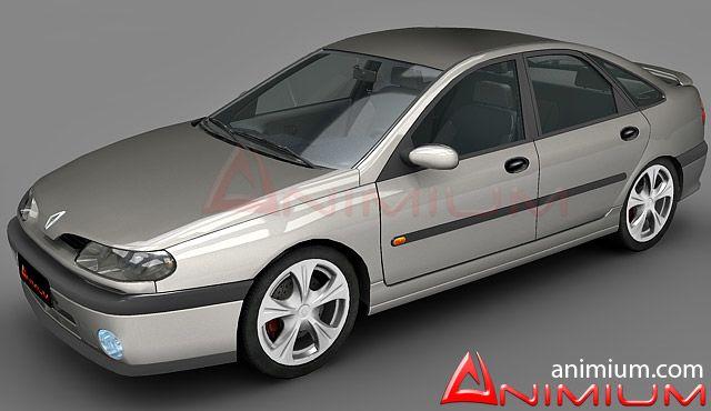 Renault Laguna 3d model