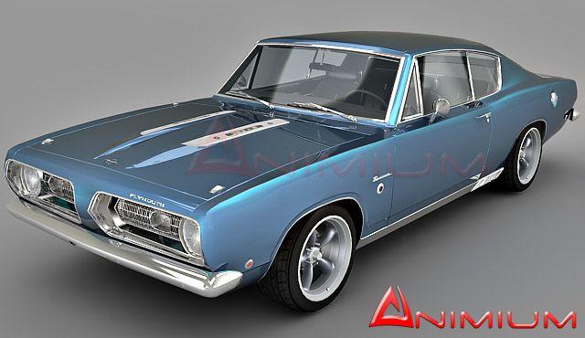 1968 Plymouth Barracuda