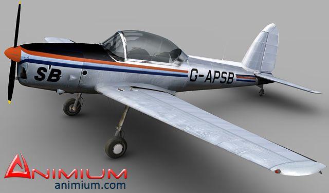 DHC-1 Chipmunk 3d model