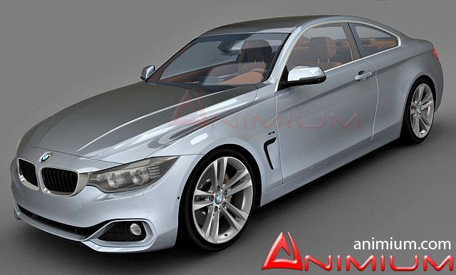 BMW 4 3d model