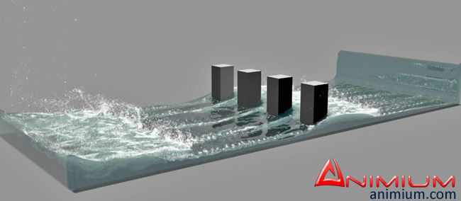 Fluid Simulation in 3ds max with Phoenix FD