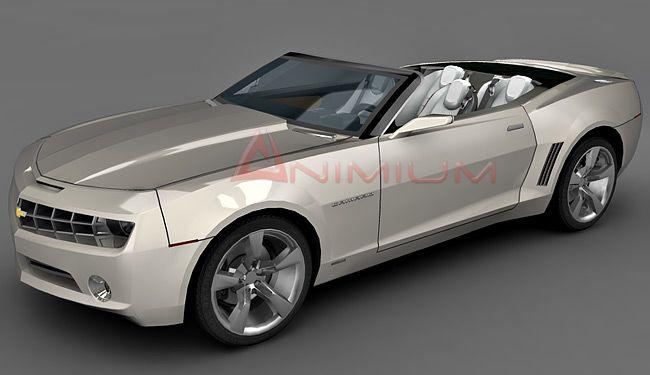 Chevrolet Camaro Convertible 3d model