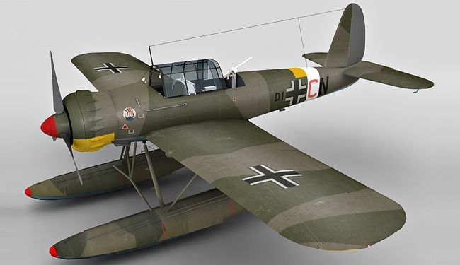 Arado Ar 196 3d model