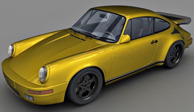 RUF CTR Yellow Bird 3d model