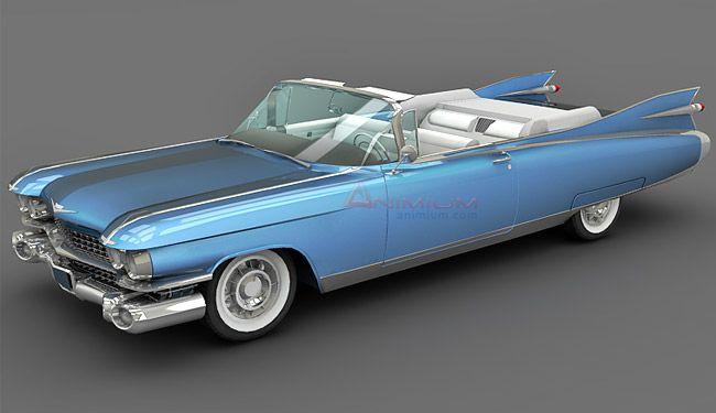 Cadillac Eldorado Biarritz 1959 3d model