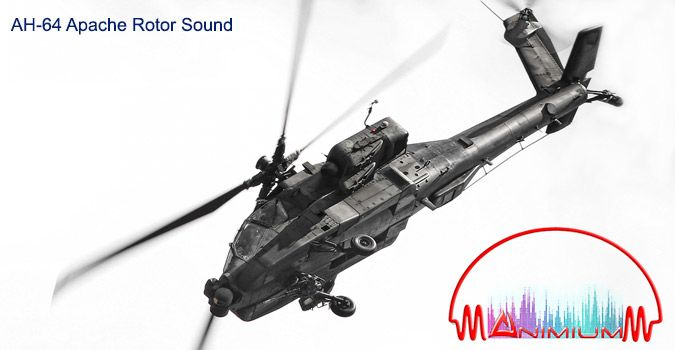 AH-64 Apache Rotor Sound
