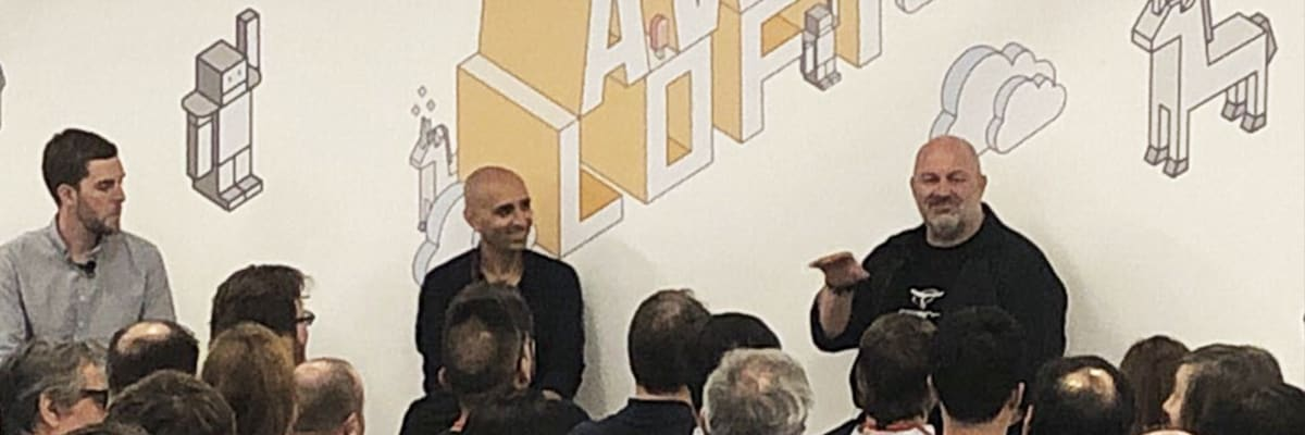 Anodot's Ira Cohen and Amazon CTO Dr. Werner Vogels