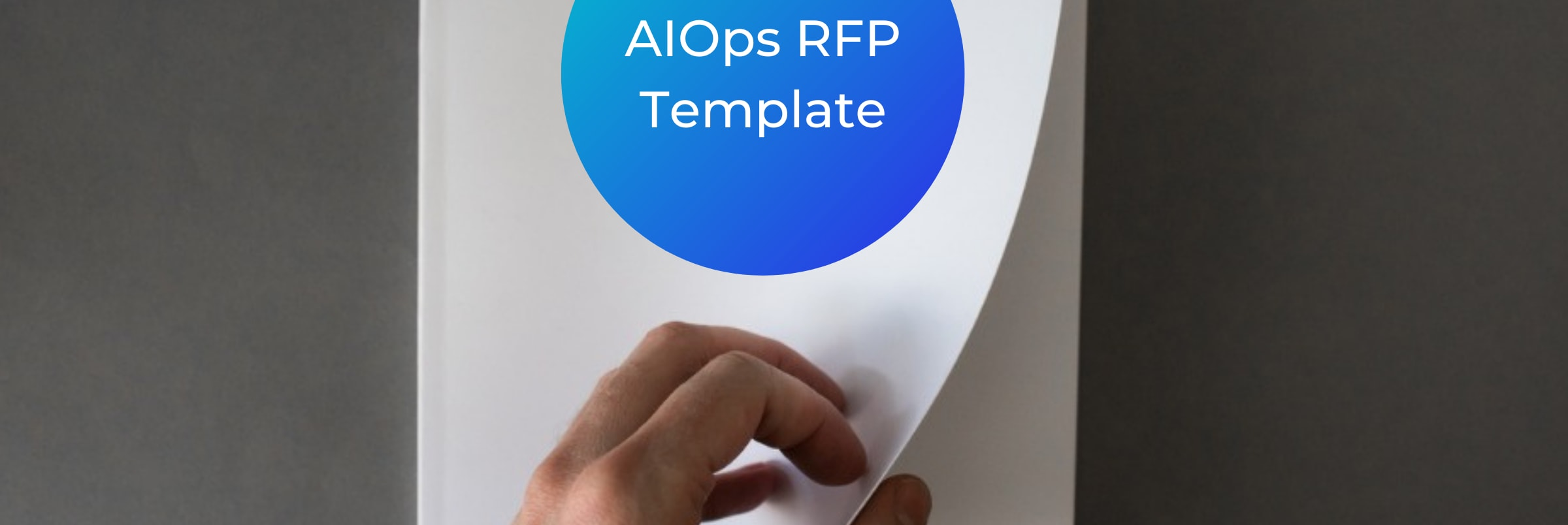 AIOps RFP Template