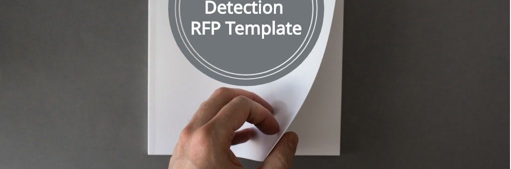 anomaly detection rfp template