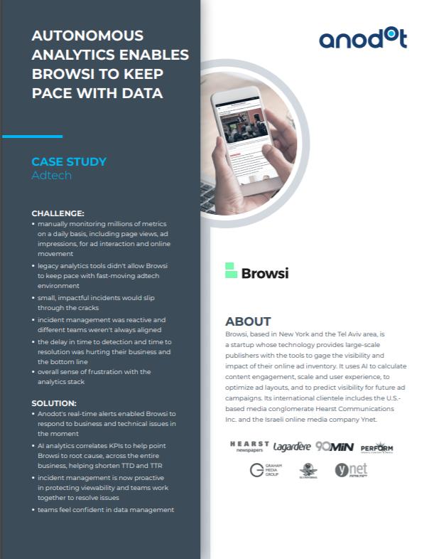 Browsi, adtech, case study