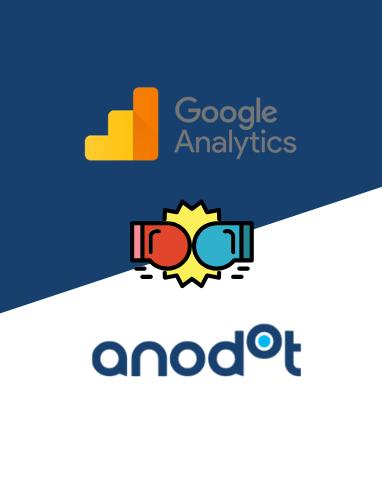 Google Analytics vs Anodot Anomaly Detection