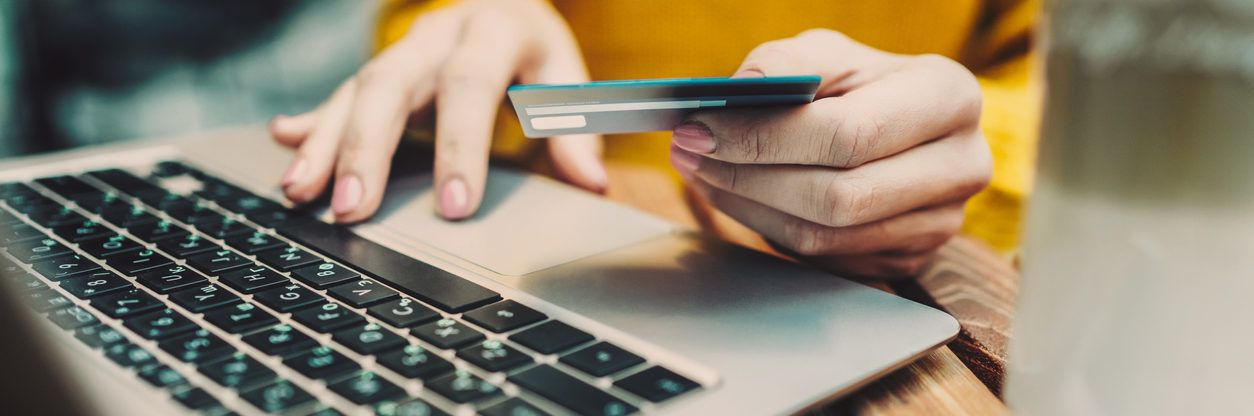 Online payment and shopping -main image