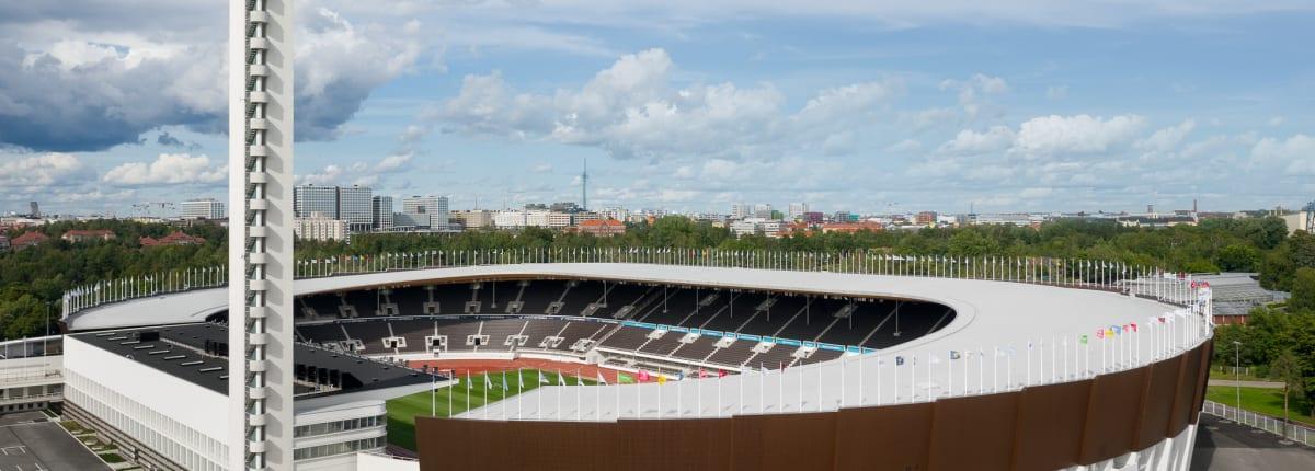 Helsinki Olympic Stadium 2020 image Wellu Hämäläinen