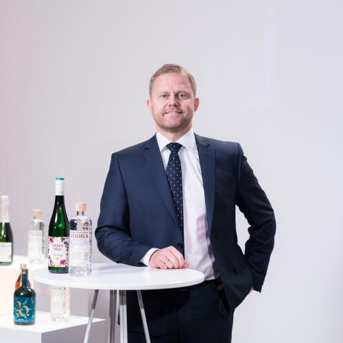 Kenneth Hamnes yhdistymisen tiedotustilaisuudessa 2020