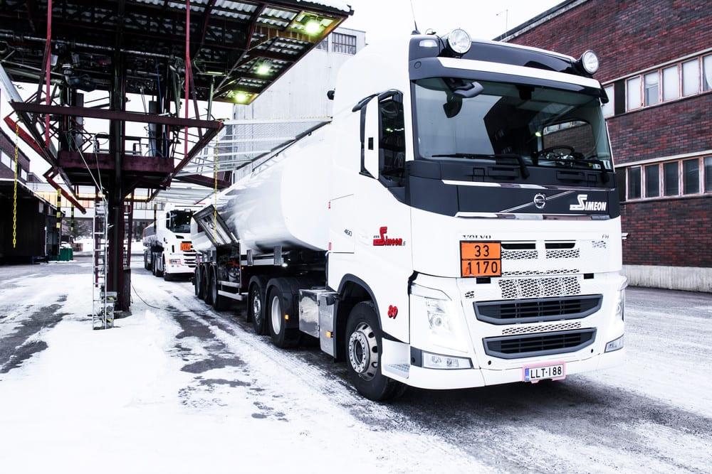 Säiliöautokuljetuksissa toimitusmäärä sovitaan asiakkaan tarpeen mukaiseksi