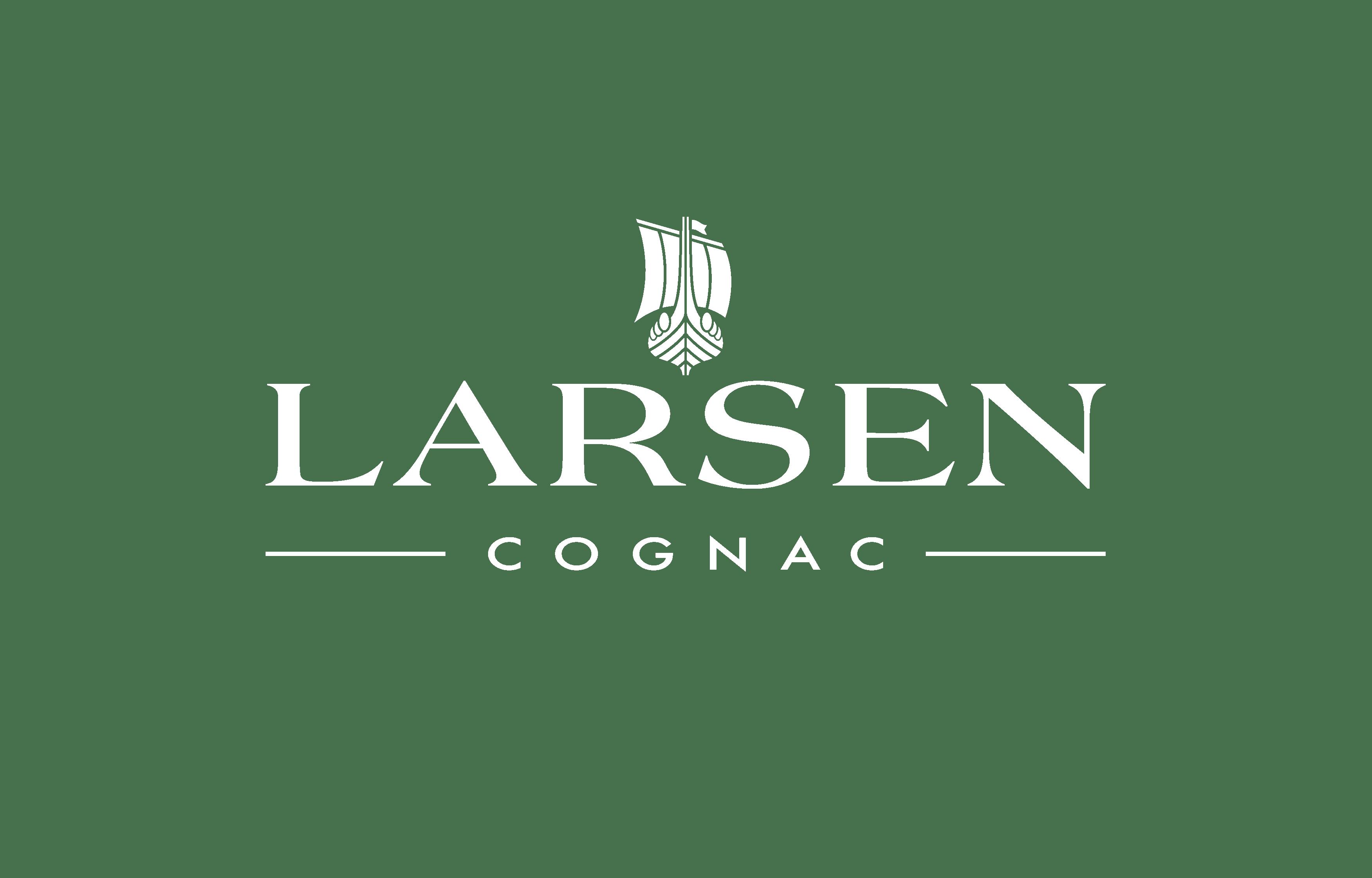 Larsen white logo