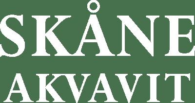 Skåne aquavit white logo