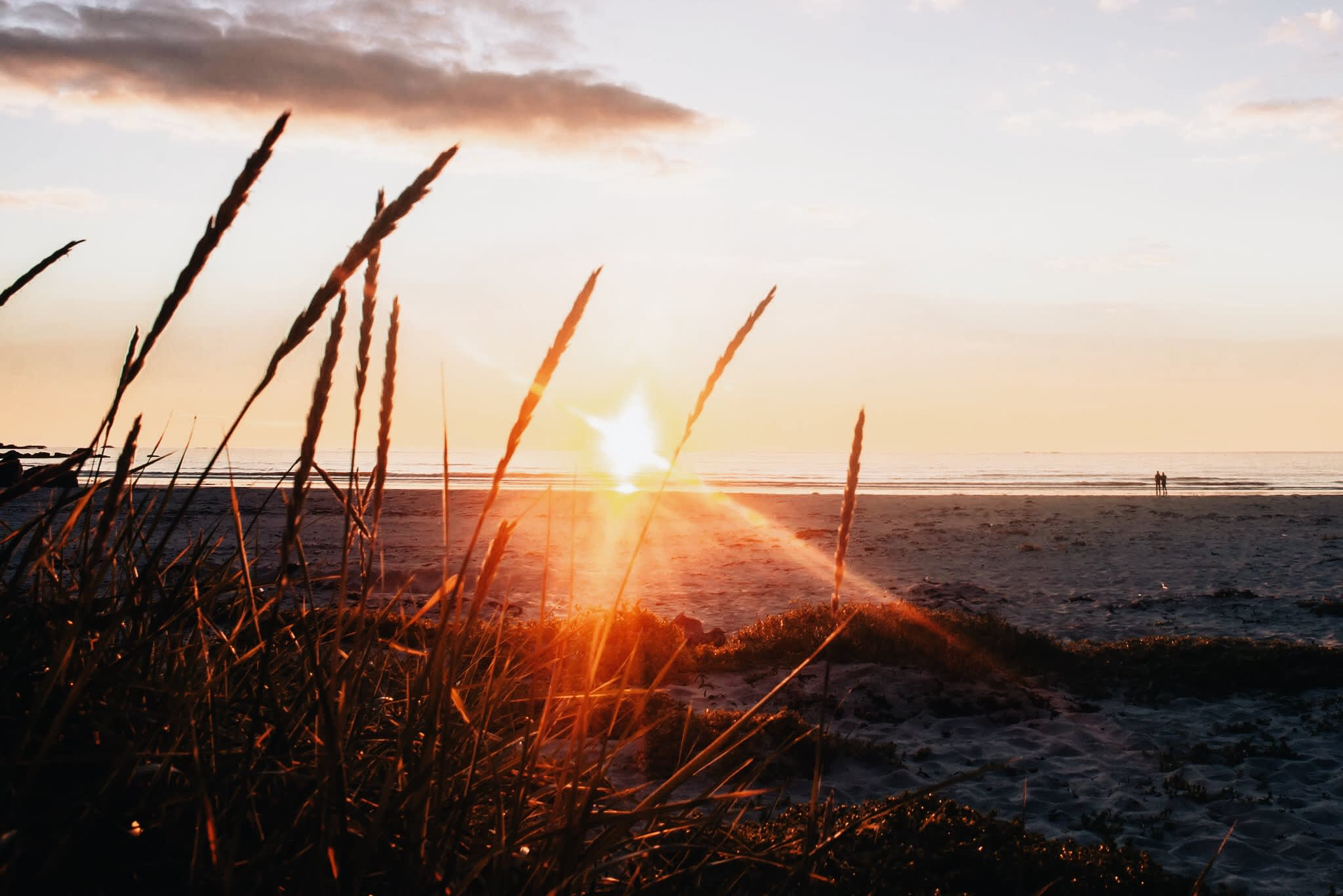 Sunset on a Nordic Beach