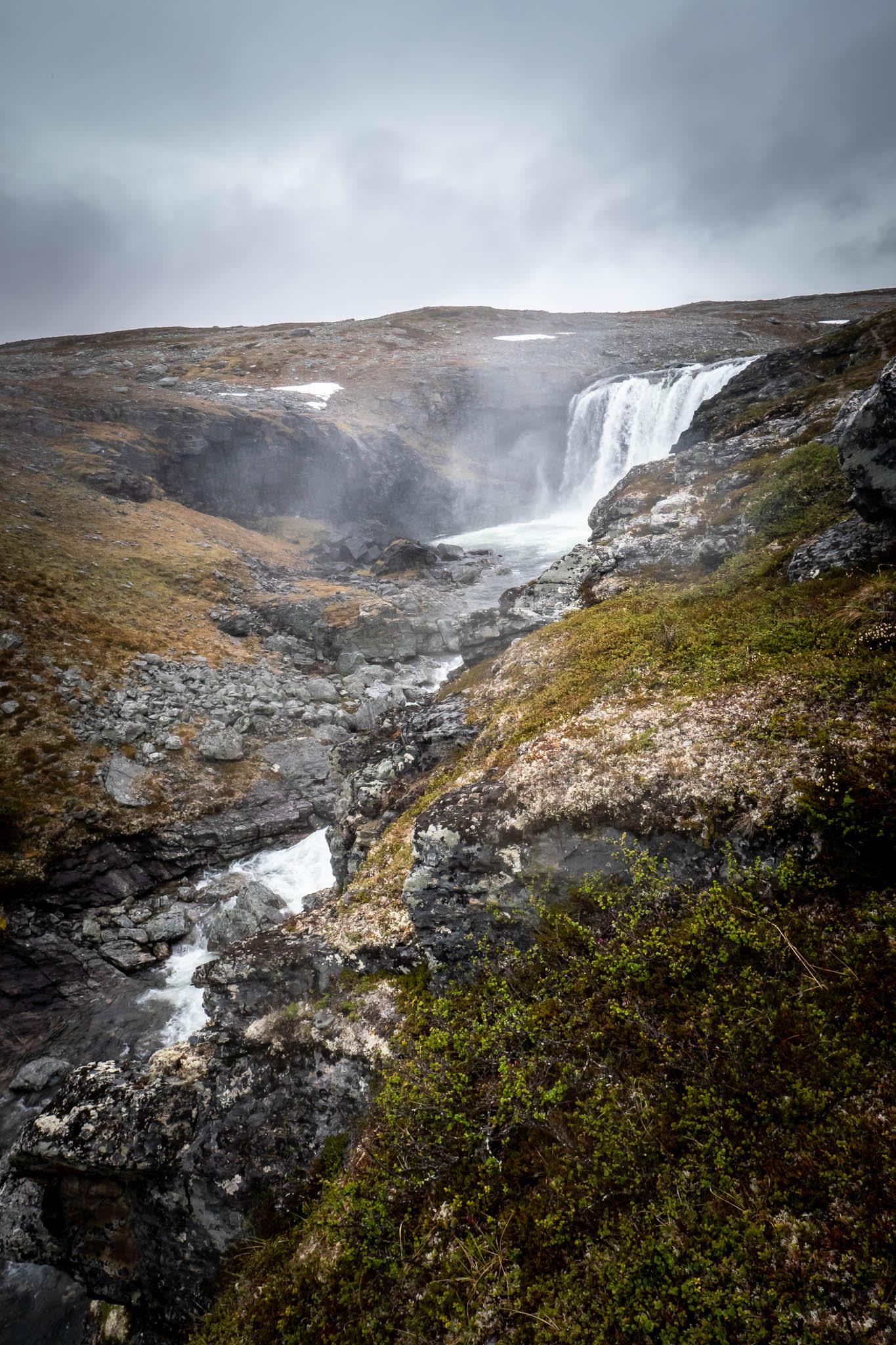 Nordic Nature Waterfall
