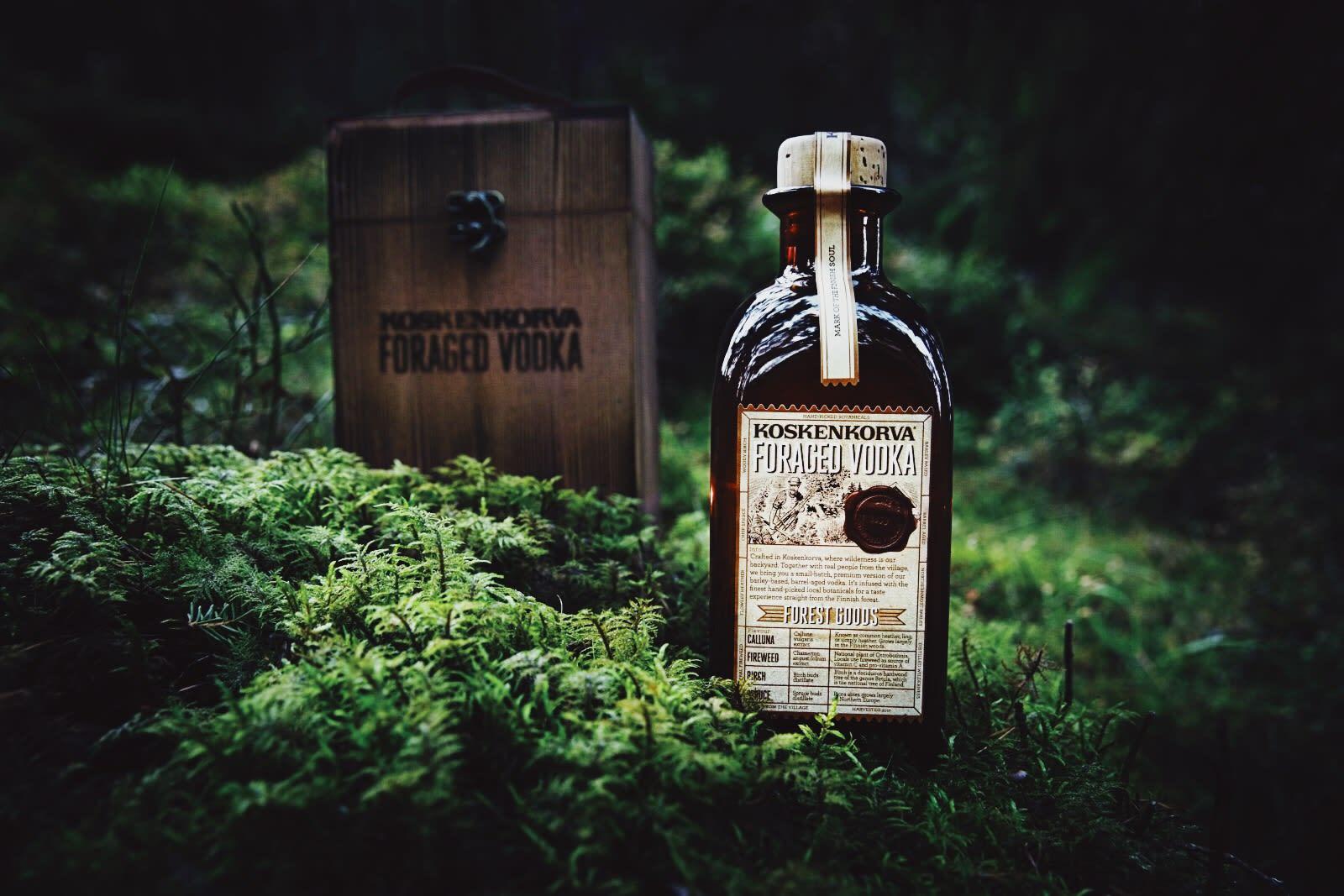 Koskenkorva foraged vodka