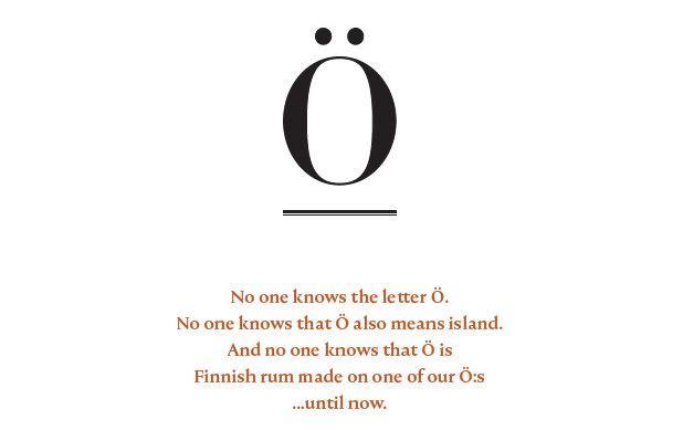 Rum Ö - description of the letter Ö