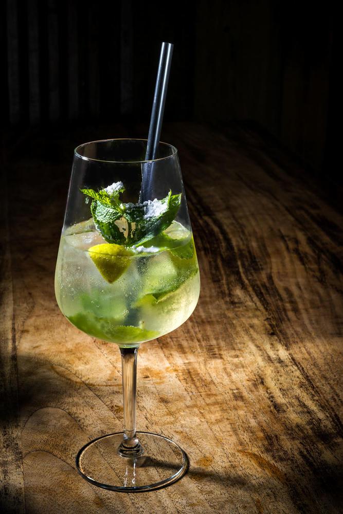 Hallands Hugo Cocktail