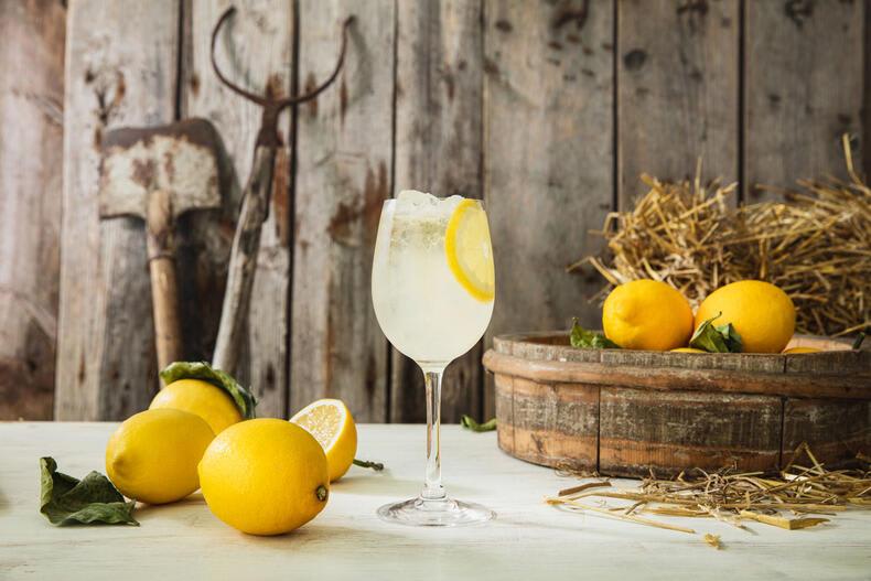 Koskenkorva Lemon Spritz