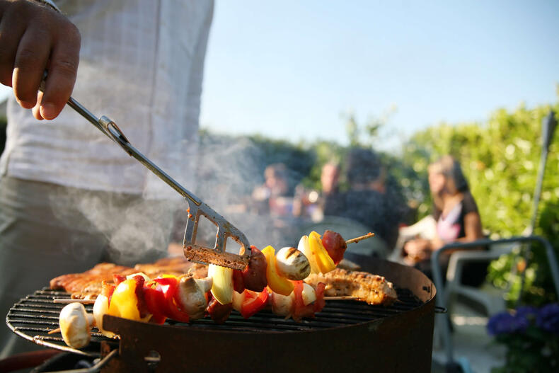 Food in Barbeque