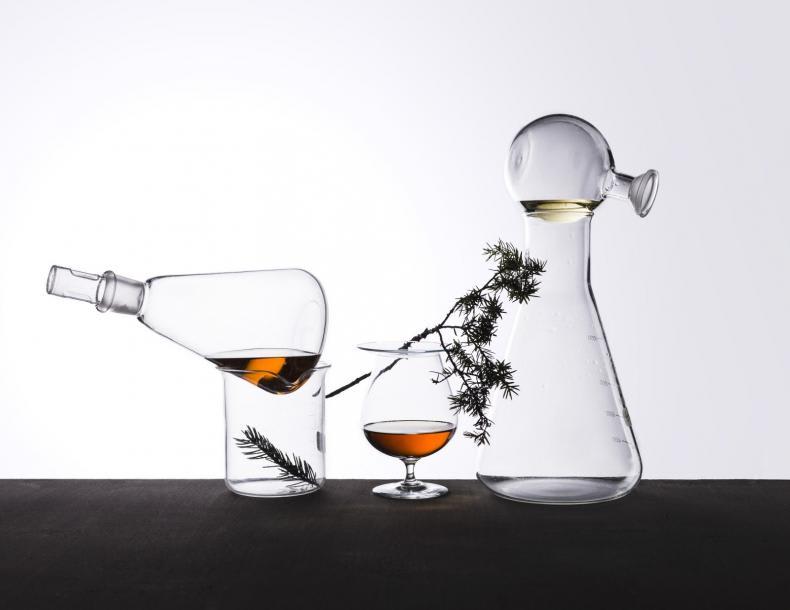 Nordic Spirits Lab Laboratory Bottles