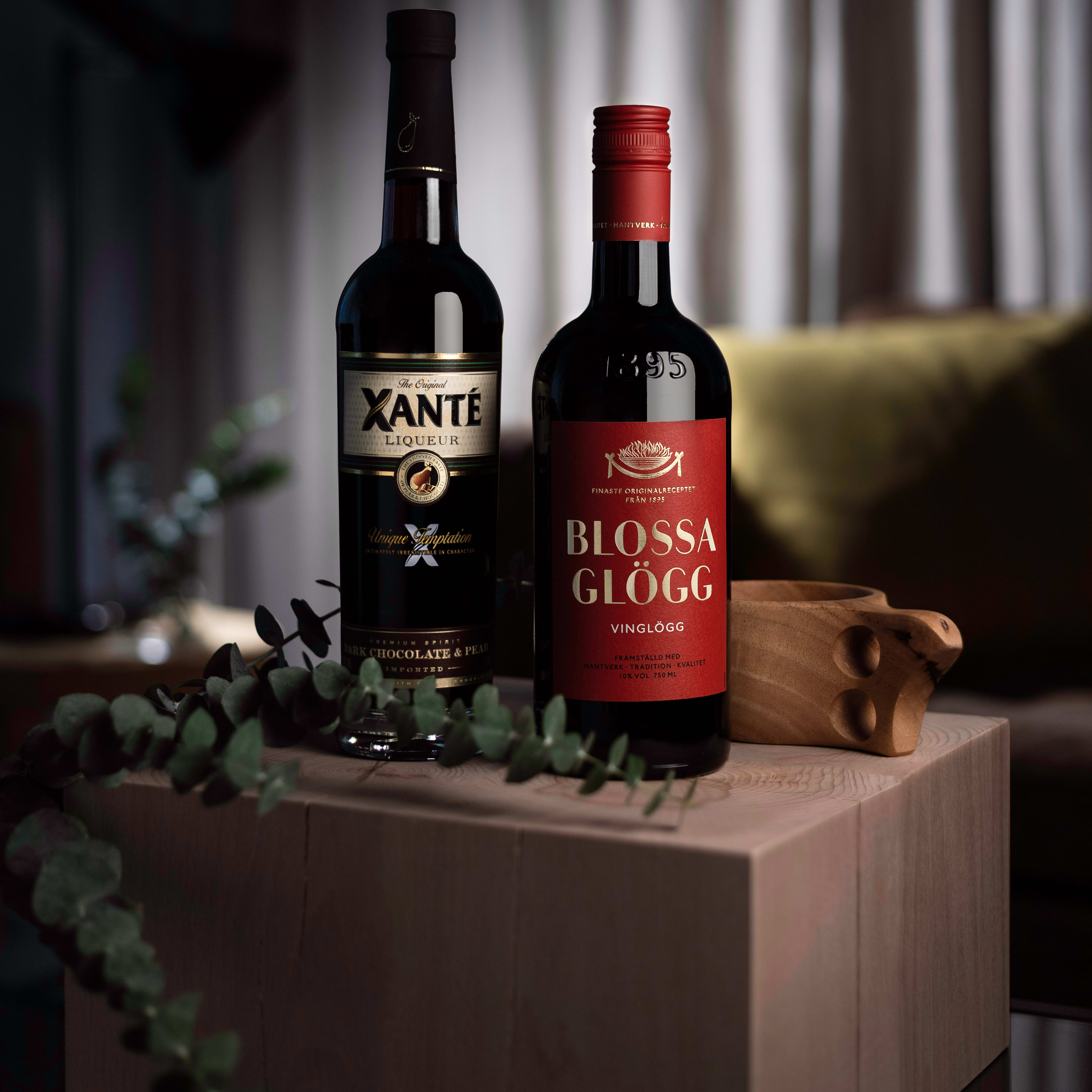 Warm drinks bundle with Blossa Glögg and Xanté Liqueur