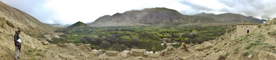 Panorama of the Ait Bougamez Valley