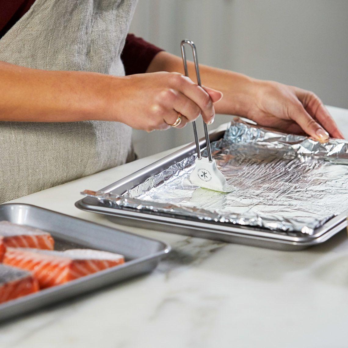 Prepare baking sheet