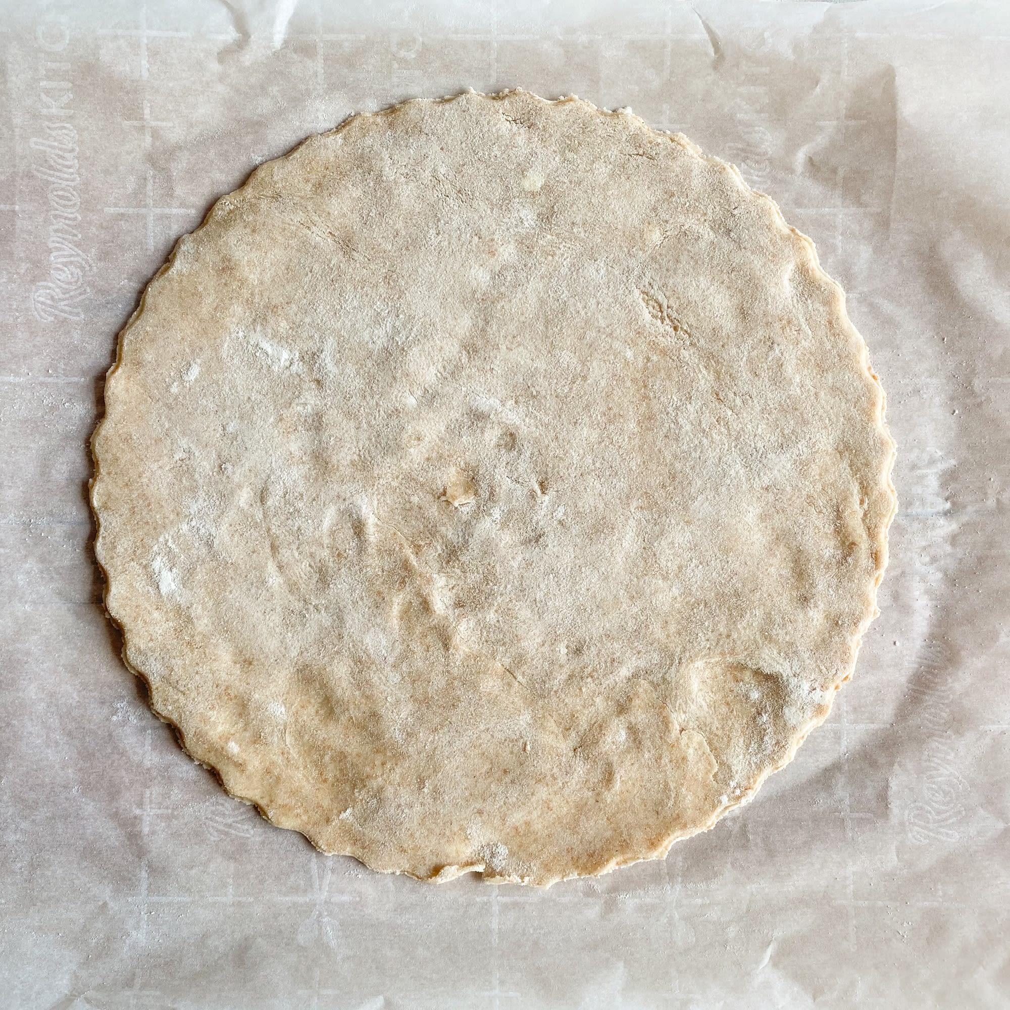 Prepare your dough.
