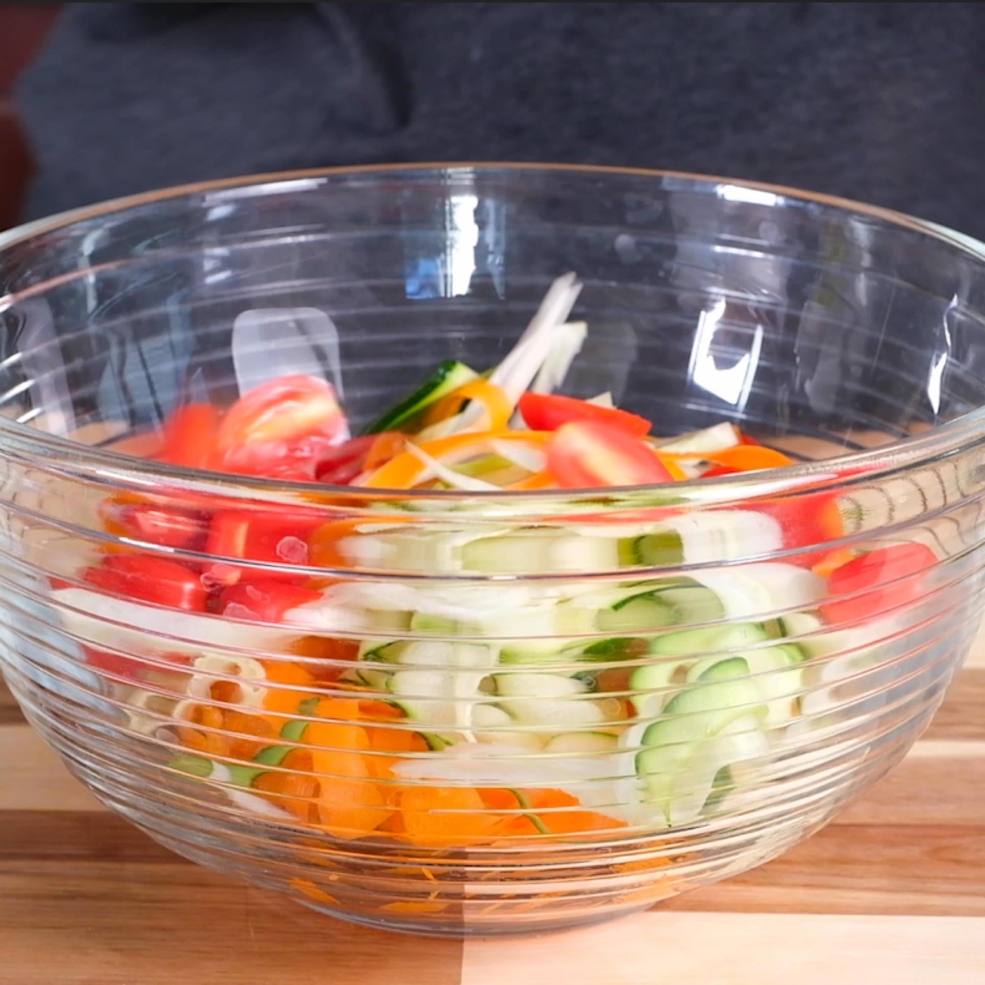 Prepare Vegetables.